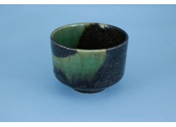 Bowl -Matcha - Brown/Green - 11 x 8cmh