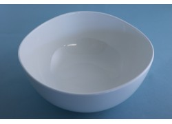 White - Contemporary - Bowl - Ocean Wave
