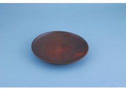 Plate -Brown/Red