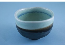 Bowl - Small Matcha - Black/Blue
