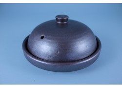 Donabe with Lid - Iron Red