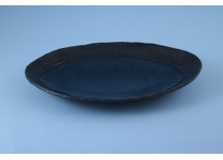 Plate - Oval - Blue Moon