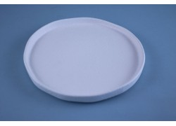 White - Durable - Plate